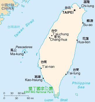 Kenting-Naional-Park-Map-Taiwan